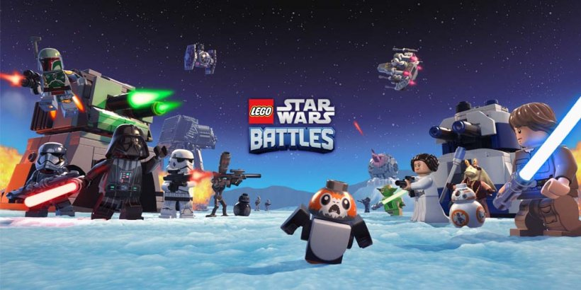 LEGO Star Wars Battles is out now as an Apple Arcade exclusive, inviting players to experience the Star Wars franchise with real-time battles