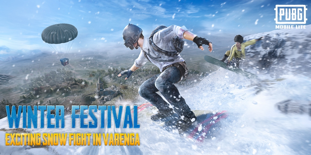 PUBG Mobile Lite's latest update introduces a snow-covered version of the map Varenga