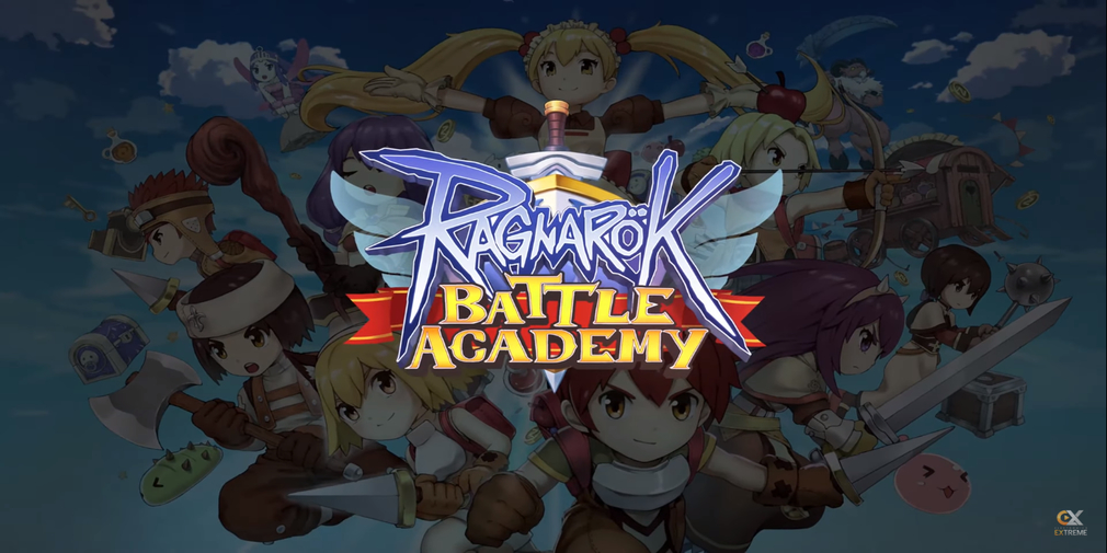 Ragnarok Battle Academy is a Battle Royale game with an MMO