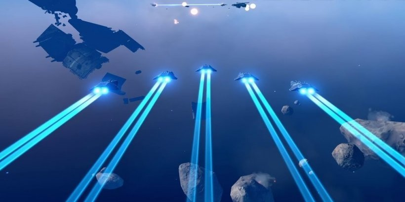 Homeworld Mobile gets a new trailer that gives us our first glimpse of its gameplay
