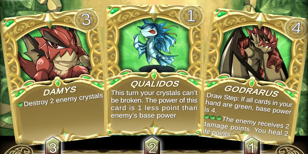 Crystal Soul Arena is a new card game that's available now in Early Access on Android