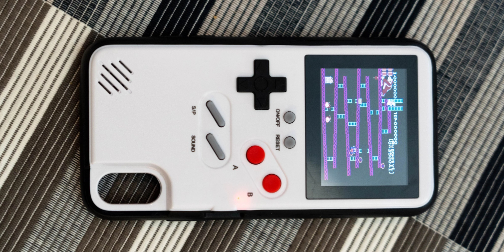 The Caseboy is a phone case that you can play retro games on