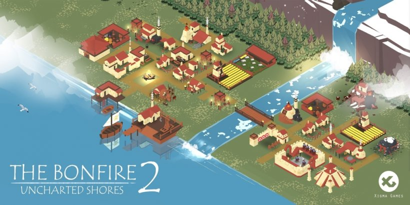 The Bonfire 2: Uncharted Shores will launch for iOS on August 20th with the PC version arriving the day after