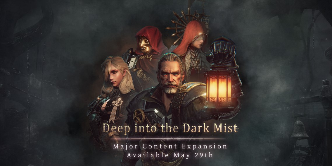 "Pascal's Wager's ""Deep into the Dark Mist"" expansion launches May 29th, just in time for a temporary price reduction"