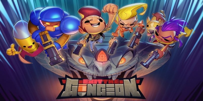 Exit The Gungeon is a spin-off to the stellar Enter The Gungeon that will debut on Apple Arcade