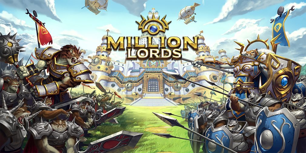 Million Lords is an MMO strategy game that's officially left beta and is available on iOS and Android
