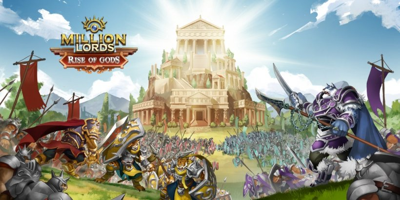 Million Lords, the popular strategy game, is receiving a large update called Rise of Gods