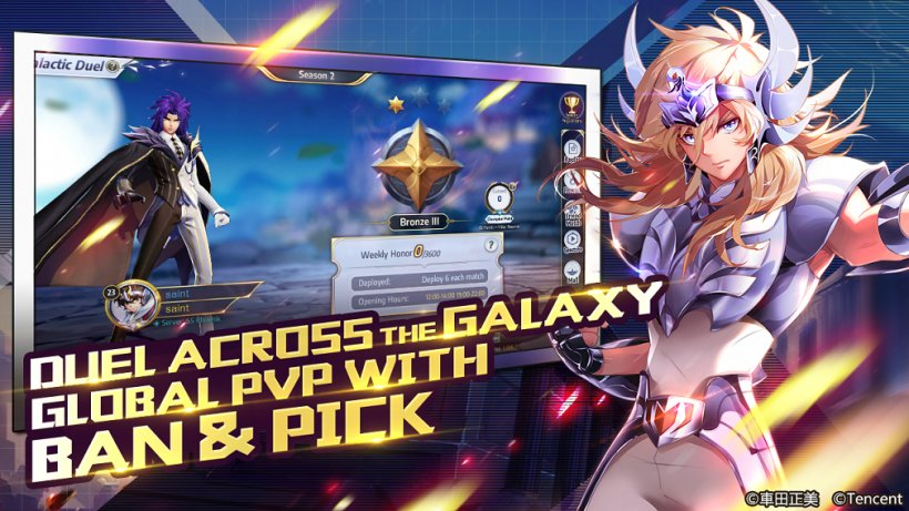 Saint Seiya Awakening: Knights of the Zodiac has launched on mobile