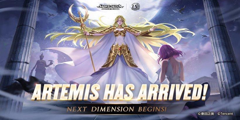 Saint Seiya Awakening: Knights of the Zodiac introduces Goddess Artemis in their latest update