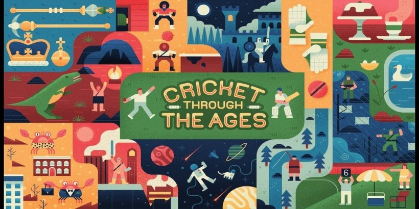 Cricket Through the Ages, a physics game that's part of the Apple Arcade line up, releases its first trailer