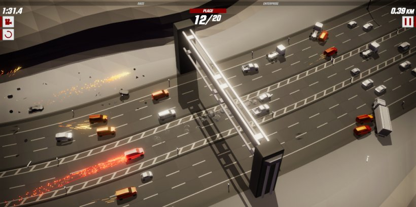 Speed Demons, now available on Apple Arcade, is a high-speed racing spectacular