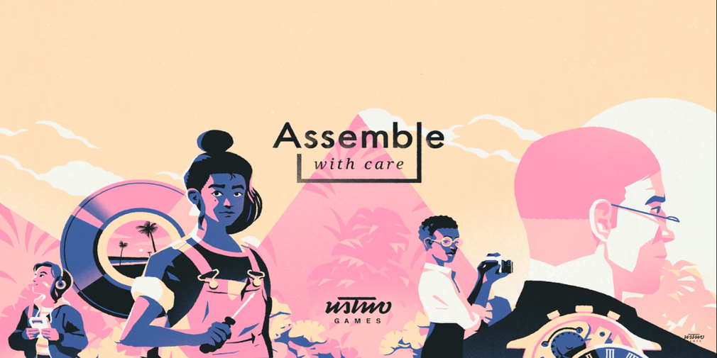 Assemble With Care is a puzzle game from the creators of Monument Valley that's heading to Apple Arcade