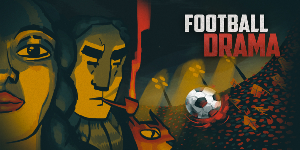 Football Drama is a satirical take on football management on and off the pitch and it's available now