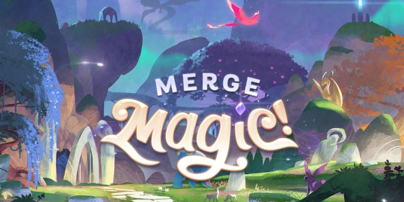 Merge Magic, Zynga and Gram Games' fantastical puzzler, launches worldwide for iOS and Android