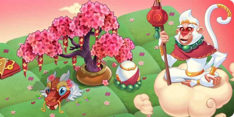 Merge Magic's latest event will celebrate the Lunar New Year with numerous treasures to unlock