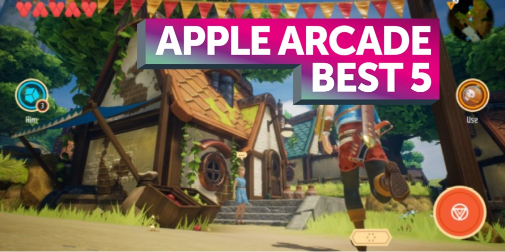 The best five new games for Apple Arcade - September 19th