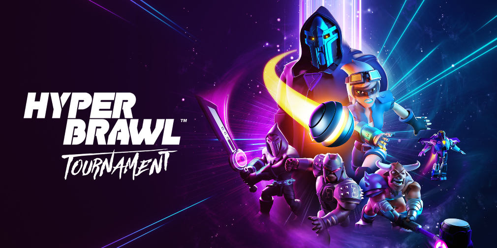 HyperBrawl Tournament is an action-packed sci-fi sports brawler for Apple Arcade