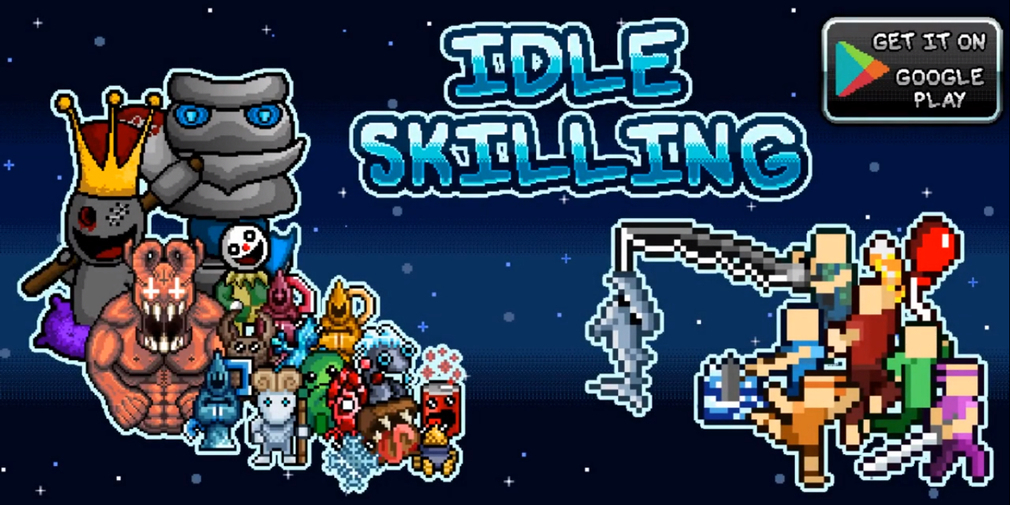 Idle Skilling - Pocket RPG Tycoon has made its way over to iOS and it's available now