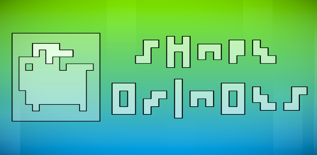 ShapeOminoes is a puzzle game where you fill in abstract shapes with Tetris-like pieces that's available now for iOS