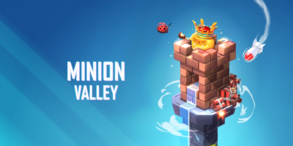 Minion Valley, a sequel to Minion Shooter, is a clicker/card game hybrid about destroying physics-based towers