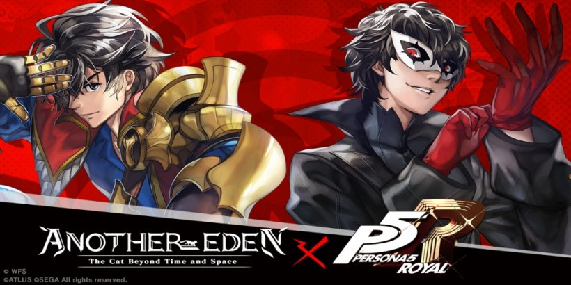 Another Eden's second crossover with Persona 5 is available now in the popular JRPG