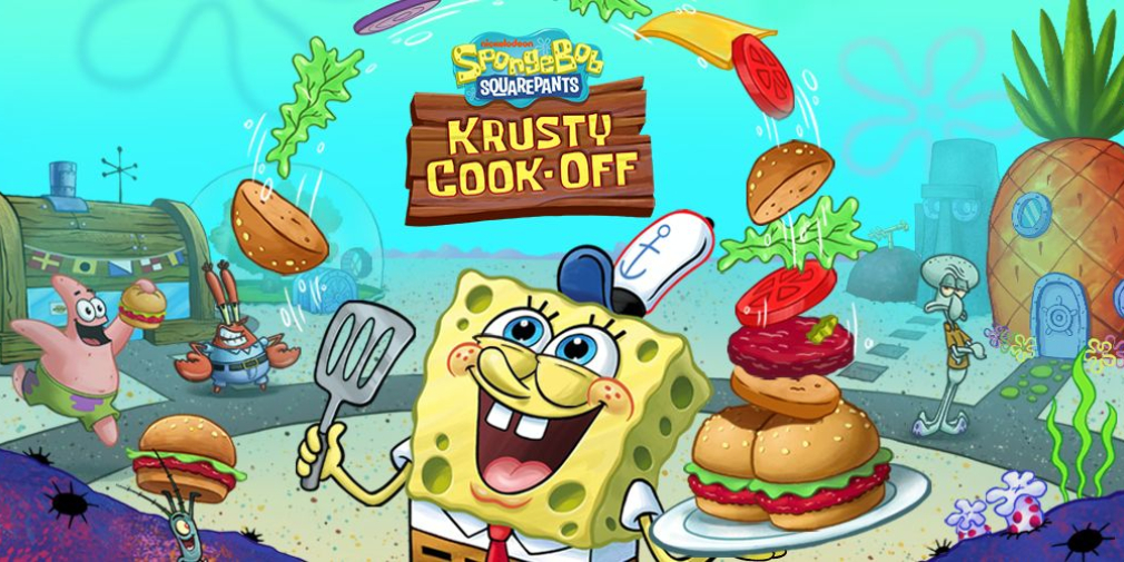 SpongeBob: Krusty Cook-Off's newest update adds new themed restaurant
