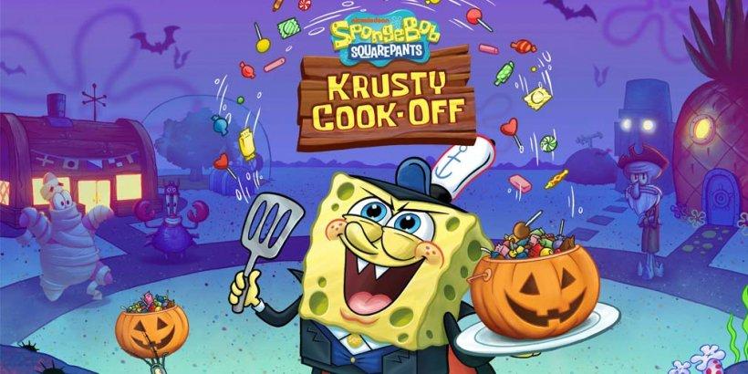 SpongeBob: Krusty Cook-Off adds new restaurant and Halloween event during 50-million-downloads celebration