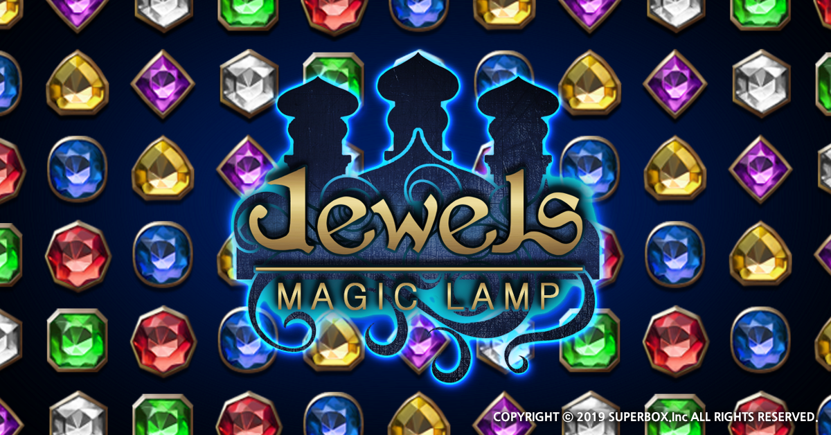 New match three game Jewels Magic Lamp is available now on Android and iOS