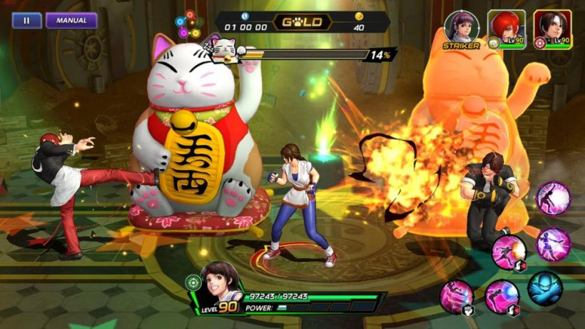 Five tips and tricks for THE KING OF FIGHTERS ALLSTAR