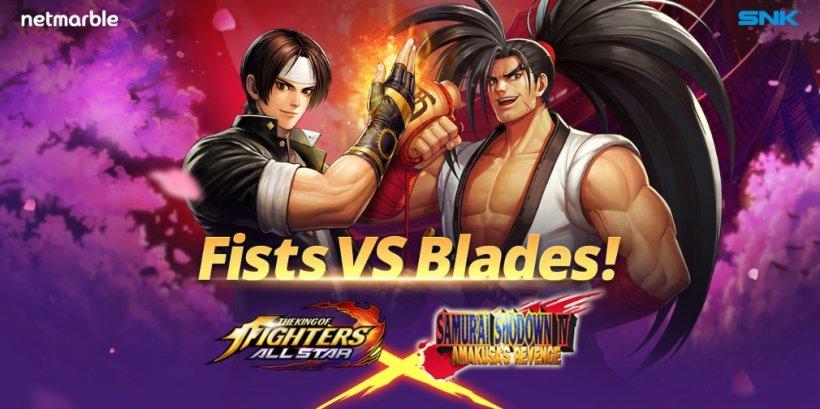 The King of Fighters ALLSTAR's Samurai Showdown crossover event kicks off tomorrow