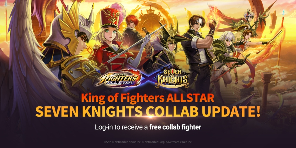 The King of Fighters ALLSTAR teams up with Seven Knights to bring new heroes to the game