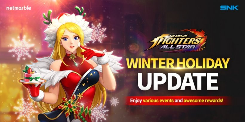 The King of Fighters ALLSTAR celebrates Christmas with a series of events and a new festive fighter