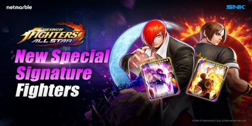 King of Fighters ALLSTAR releases Special Signature Kyo and Iori in the latest update