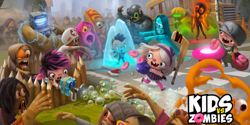 Kids vs Zombies is an accessible multiplayer shooter full of oddball characters and shambling undead