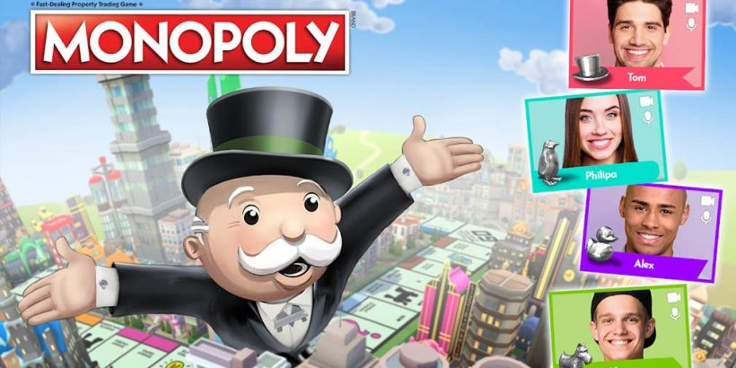 MONOPOLY now has an in-game video chat feature for iOS and Android
