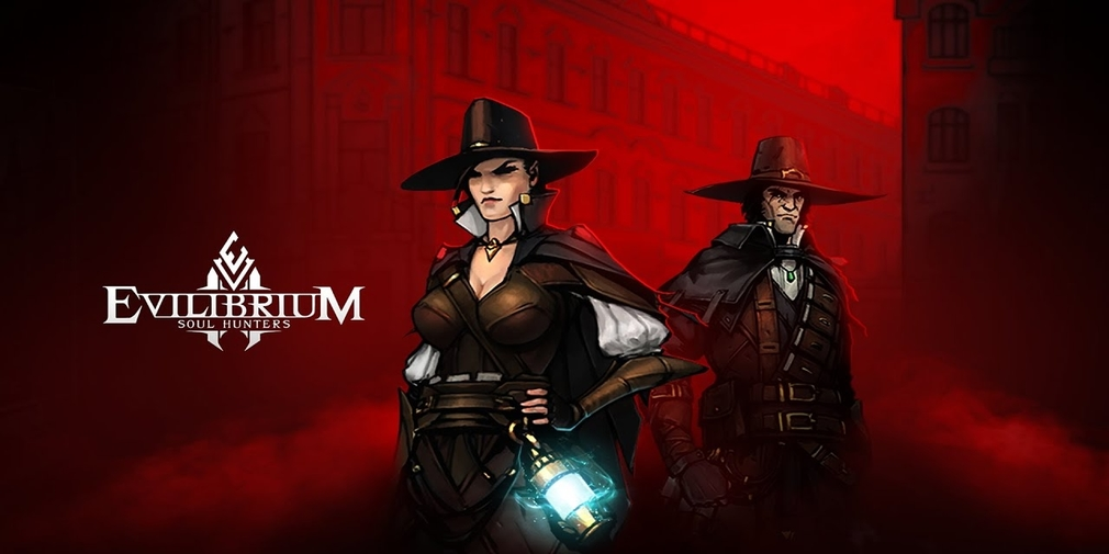 Evilibrium: Soul Hunters is a dark fantasy CCG dungeon crawler that's available now for iOS
