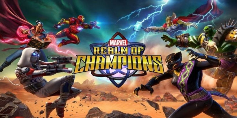 Marvel Realm of Champions receives a new trailer for the Patriot Garrison