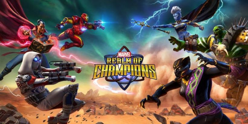Marvel Realm of Champions, Kabam's 3v3 MOBA, is available now for iOS and Android