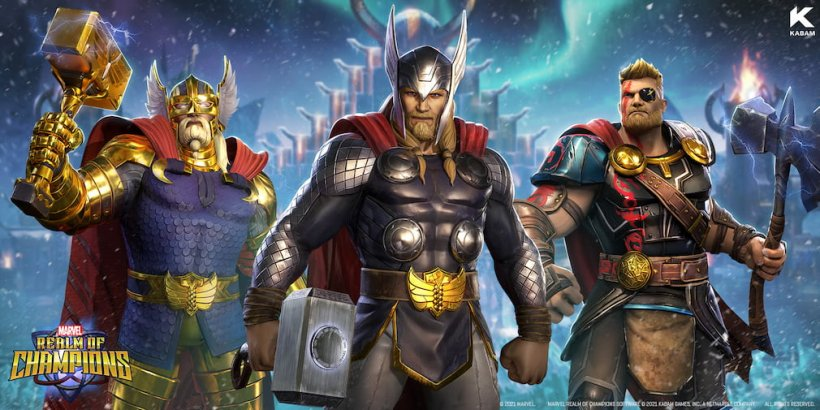 Marvel Realm of Champions introduces War Thor in its latest content update
