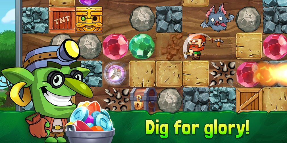 5 reasons why you should check out Dig Out!, ZiMAD's stellar arcade mining game