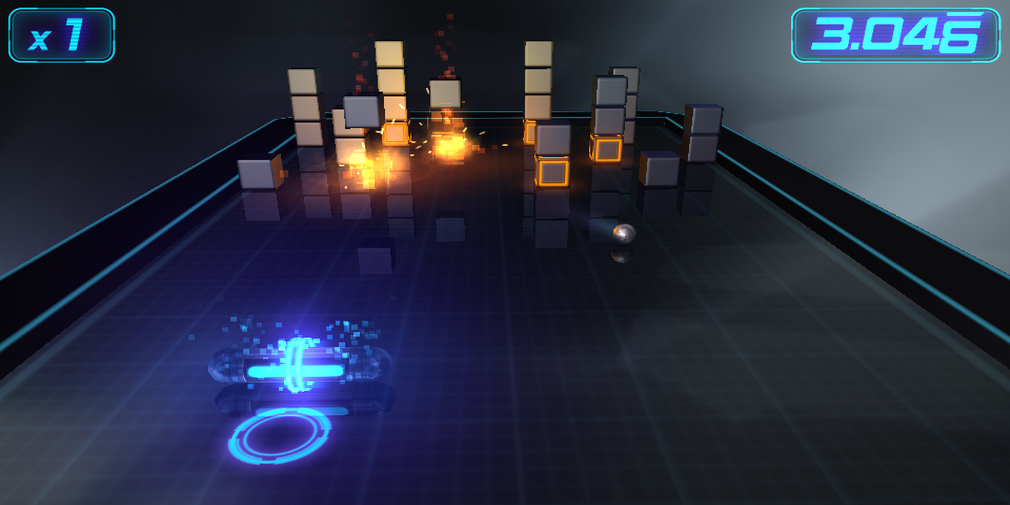 Micro Breaker is a 3D modern spin on Breakout style games that'll be available for iOS in November