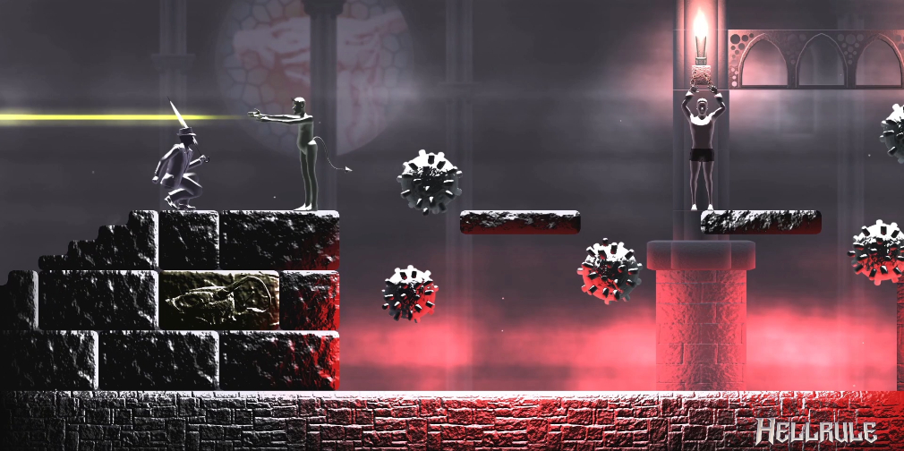 Hellrule is a horror-infused auto-runner inspired by the classic Castlevanias