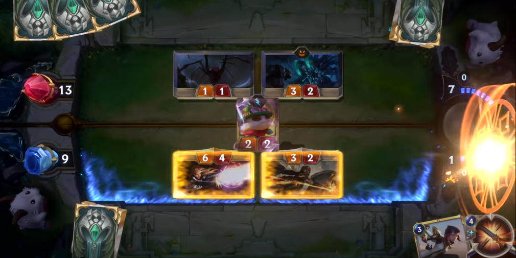 Legends of Runeterra is a digital card game based on the LoL universe that's heading to iOS and Android in 2020