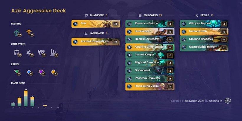 Legends of Runeterra Decks - The best beginner and advanced choices