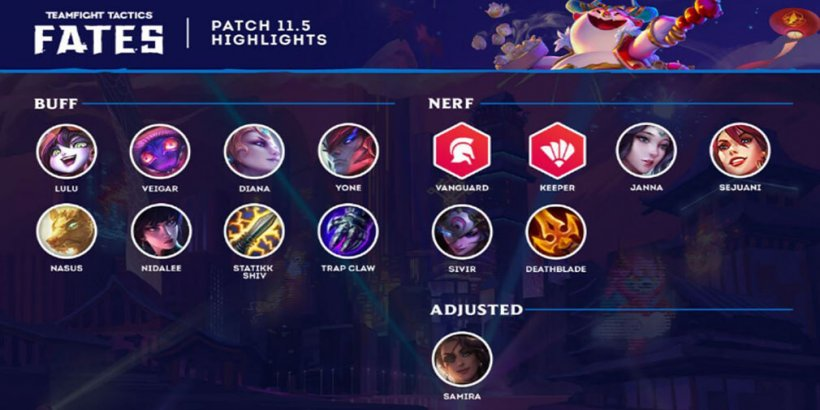 TFT 11.5 patch notes - What to expect from TeamFight Tactics' latest update