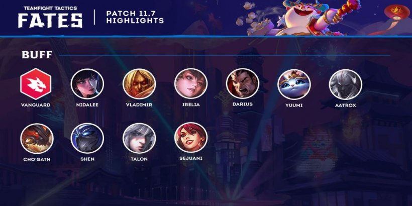 TFT patch notes 11.7 - What to expect from TeamFight Tactics' latest update