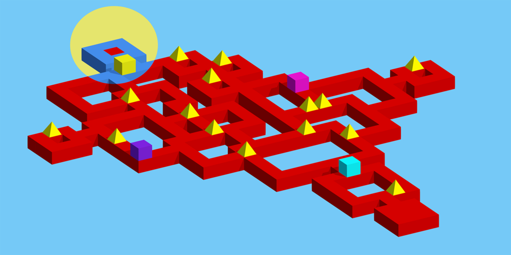 Vectronom is a pulsing rhythm-based puzzle game from Lupodium that's available for iOS and Android now
