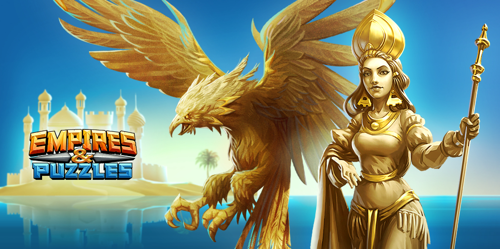 Empires & Puzzles' Empire of Sand event introduces new heroes, power-ups, and special rewards