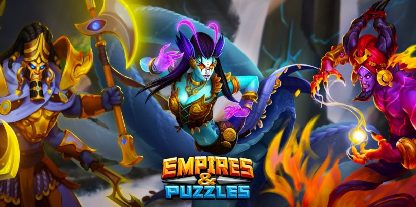 Empires & Puzzles' Mythic Titans event will see players competing with one another against five powerful titans