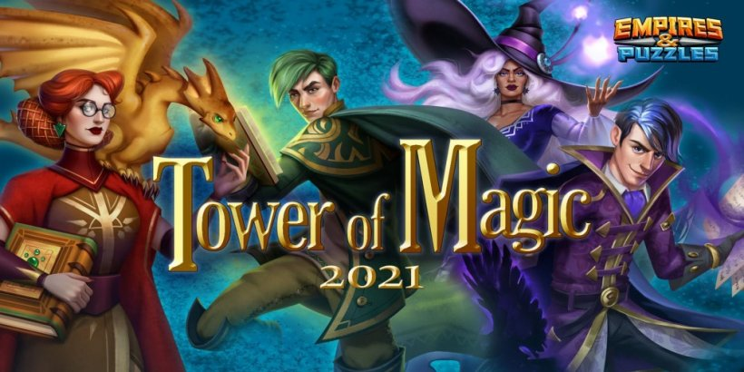 Empires & Puzzles' Tower of Magic event will challenge players to climb many floors from September 15th